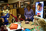 A birthday party at Rolling Greens bowling alley in Scotia, NY, on Saturday, December 26, 2009.