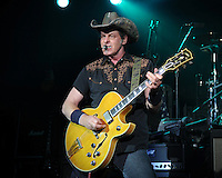 FORT LAUDERDALE FL - AUGUST 7 : Ted Nugent performs at Revolution on August 7, 2012 in Fort Lauderdale, Florida. © mpi04/MediaPunch Inc /NortePhoto.com<br />