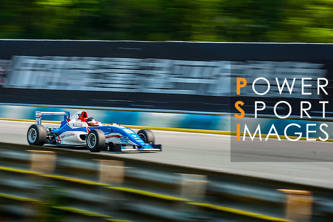 Sean Zheng of China and Cebu Pacific Air by KCMG drives during Formula Masters China Series as part of the 2015 Pan Delta Super Racing Festival at Zhuhai International Circuit on September 18, 2015 in Zhuhai, China.  Photo by Aitor Alcalde / Power Sport Images
