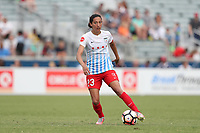 Cary, North Carolina  - Sunday May 21, 2017: Christen Press during a regular season National Women's Soccer League (NWSL) match between the North Carolina Courage and the Chicago Red Stars at Sahlen's Stadium at WakeMed Soccer Park. Chicago won the game 3-1.