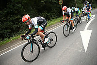 Picture by Alex Whitehead/SWpix.com - 06/09/2017 - Cycling - OVO Energy Tour of Britain - Stage 4, Mansfield to Newark-on-Trent - Madison Genesis's Richard Handley at the front of the break.