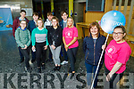 Enjoying their tour of the IT Tralee's Open Day on Friday Morning.<br /> Front l to r: Angela O'Brien (Galway) and Sarah Redmond (Tralee).<br /> Back l to r: Maggie O'Dowd (Milltown), Ellie Redmond (Castlemaine), Edwina O'Brien (Galway) and Una Fitzgerald (Castleisland).<br /> Back l to r: Gearoid Molyneaux (Clounmacon, Listowel), Jerry Long (Listowel), Darragh Murphy (Limerick) and Padraig Leahy (Tarbert)