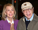 Elaine Joyce and Neil Simon  attend the Broadway Opening Night Performance of 'The Winslow Boy' at the American Airlines Theatre in New York City on October 17, 2013.