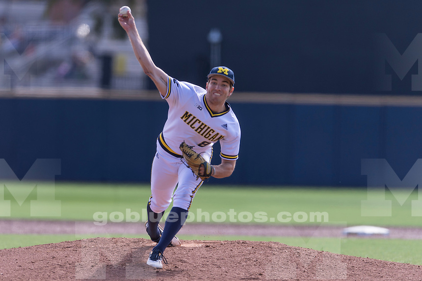 The University of Michigan baseball team beats Eastern Michigan, 19-3, at the Wilpon Baseball complex in Ann Arbor on April 13, 2016.