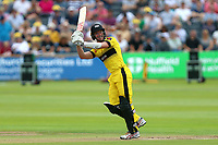 Michael Klinger hits six runs for Gloucestershire during Gloucestershire vs Essex Eagles, NatWest T20 Blast Cricket at The Brightside Ground on 13th August 2017