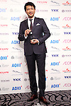 Japanese actor Tetsuya Bessho attends the 45th annual Best Dresser Awards ceremony in Tokyo, Japan on November 30, 2016. (Photo by Shingo Ito/AFLO)