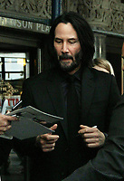 NEW YORK, NY - May 9: Keanu Reeves arriving to the World  premiere of John Wick: Chapter 3 Parabellum  in Brooklyn, New York City on May 9, 2019.  <br /> CAP/MPI/RW<br /> &copy;RW/MPI/Capital Pictures
