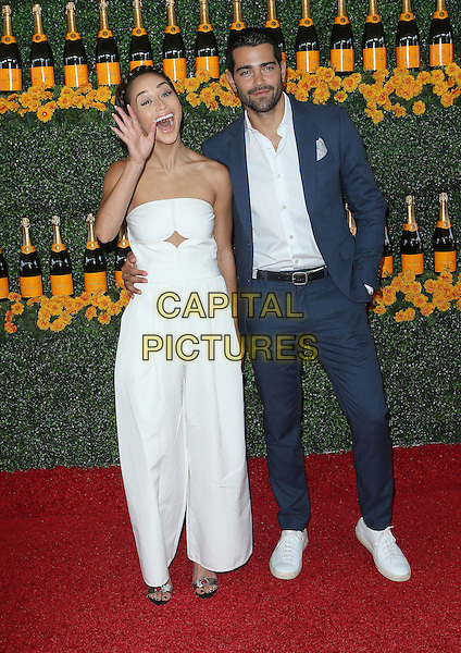 17 October 2015 - Pacific Palisades, California - Jesse Metcalfe, Cara Santana. Sixth-Annual Veuve Clicquot Polo Classic, Los Angeles held at Will Rogers State Historic Park. <br /> CAP/ADM/FS<br /> &copy;FS/ADM/Capital Pictures