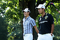 Golf: Practice round for the PGA Championship at Oak Hill Country Club