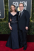 Golden Globe nominee Brad Bird and Elizabeth Bird attend the 76th Annual Golden Globe Awards at the Beverly Hilton in Beverly Hills, CA on Sunday, January 6, 2019.<br /> *Editorial Use Only*<br /> CAP/PLF/HFPA<br /> Image supplied by Capital Pictures