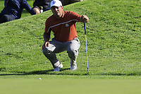 Francesco Molinari (Team Europe) at the 9th green during Saturday's Foursomes Matches at the 2018 Ryder Cup 2018, Le Golf National, Ile-de-France, France. 29/09/2018.<br /> Picture Eoin Clarke / Golffile.ie<br /> <br /> All photo usage must carry mandatory copyright credit (&copy; Golffile | Eoin Clarke)