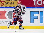 Södertälje 2013-02-02 Ishockey Allsvenskan , Södertälje SK - BIK Karlskoga :  .Södertälje 10 Damien Fleury  i aktion.(Byline: Foto: Kenta Jönsson) Nyckelord:  porträtt portrait