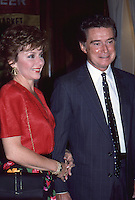 Regis Philbin &amp; Wife Joy Philbin 1987 <br />