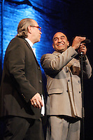 Montreal (Qc) CANADA - April 7, 2008 -<br /> Michel Gaumont, Producer (L) and Michael Dozier (R).<br /> DO YOU LIKE GOOD MUSIC ? Rewiew will pay tribute to the Montreal R&B and  soul club from the 50's , 60's and 70's ;<br /> The Esquire Show bar that was located at 1224, Stanley in downtown Montreal.  The review will run all summer at the Corona theater on Notre-Dame street West.<br /> <br /> <br /> Photo (c)  Images Distribution