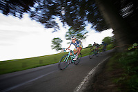 Rob Ruijgh (NLD) speeding down<br /> <br /> 2013 Ster ZLM Tour <br /> stage 4: Verviers - La Gileppe (186km)