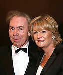 Andrew Lloyd Webber and wife Madeleine Gurdon attend the Broadway Opening Night of Sunset Boulevard' at the Palace Theatre Theatre on February 9, 2017 in New York City.