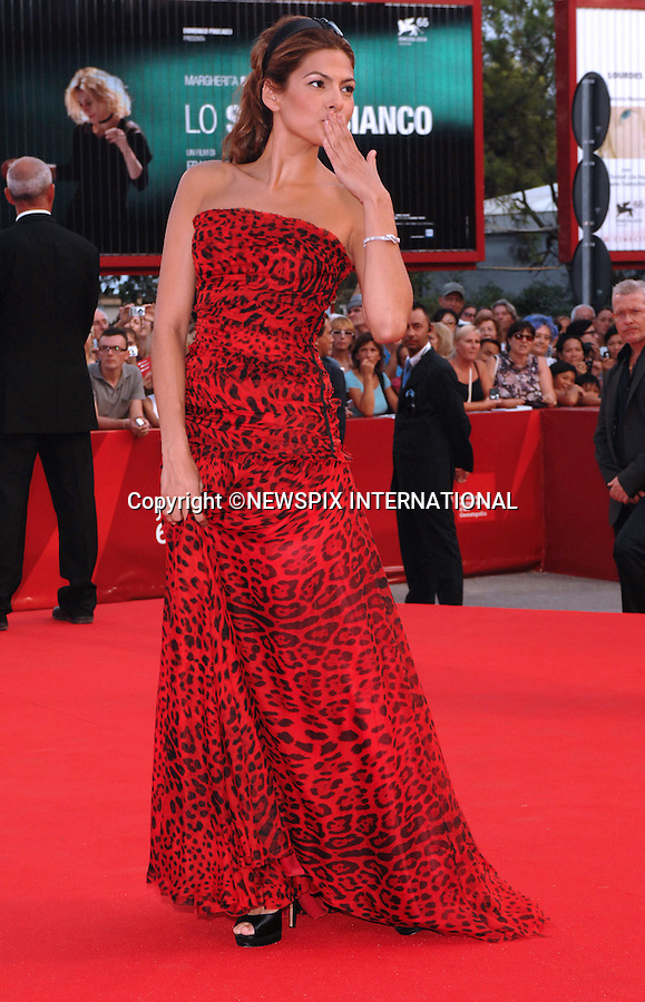 "EVA MENDES.at the  66th Venice Film Festival , Venice_02/09/2009.Mandatory Credit Photo: ©NEWSPIX INTERNATIONAL..**ALL FEES PAYABLE TO: ""NEWSPIX INTERNATIONAL""**..IMMEDIATE CONFIRMATION OF USAGE REQUIRED:.Newspix International, 31 Chinnery Hill, Bishop's Stortford, ENGLAND CM23 3PS.Tel:+441279 324672  ; Fax: +441279656877.Mobile:  07775681153.e-mail: info@newspixinternational.co.uk"