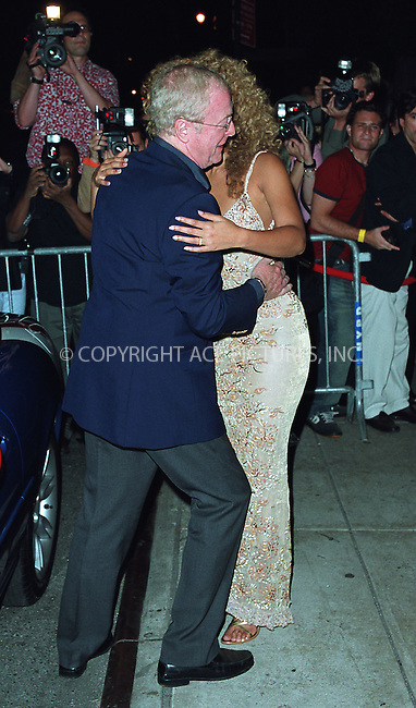 """Michael Caine greets Beyonce Knowles as she arrives at the New York Premiere of """"Austin Powers in Goldmember"""" at Barney's New York on Madison Avenue in New York. July 24, 2002. Please byline: Alecsey Boldeskul/NY Photo Press.   ..*PAY-PER-USE*      ....NY Photo Press:  ..phone (646) 267-6913;   ..e-mail: info@nyphotopress.com"""
