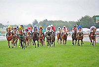 30.07.2013 Goodwood, England. 17:25 HANDICAP 5f during day one of the at Glorious Goodwood Festival.