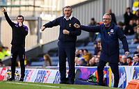 Blackburn Rovers manager Tony Mowbray and assistant manager Mark Venus<br /> <br /> Photographer Alex Dodd/CameraSport<br /> <br /> The EFL Sky Bet Championship - Blackburn Rovers v Stoke City - Saturday 6th April 2019 - Ewood Park - Blackburn<br /> <br /> World Copyright © 2019 CameraSport. All rights reserved. 43 Linden Ave. Countesthorpe. Leicester. England. LE8 5PG - Tel: +44 (0) 116 277 4147 - admin@camerasport.com - www.camerasport.com