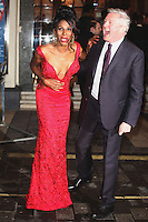 Sinitta and Louis Walsh arriving for the I Can't Sing Press Night, at the Paladium, London. 26/03/2014 Picture by: Alexandra Glen / Featureflash