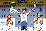 Dion Smith (NZL) Wanty-Groupe Gobert retains the Polka Dot Jersey at the end of Stage 3 of the 2018 Tour de France a Team Time Trial running 35.5km from Cholet to Cholet (35,5km, France. 9th July 2018. <br /> Picture: ASO/Pauline Ballet | Cyclefile<br /> All photos usage must carry mandatory copyright credit (&copy; Cyclefile | ASO/Pauline Ballet)