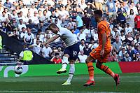 Harry Kane of Tottenham Hotspur and Fabian Schar of Newcastle United during Tottenham Hotspur vs Newcastle United, Premier League Football at Tottenham Hotspur Stadium on 25th August 2019
