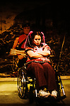 Graeae Theatre Company and Unicorn Theatre for Children;<br /> DIARY OF AN ACTION MAN by Kenny<br /> David Ellington;<br /> Cherylee Houston;<br /> Amit Sharma;<br /> 12 February 2003