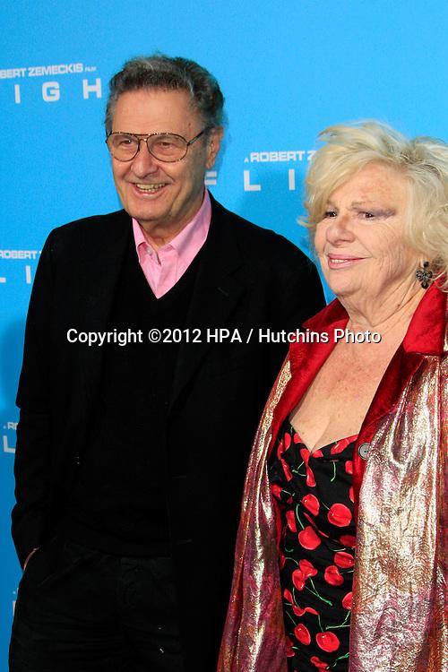 "LOS ANGELES - OCT 23:  Joe Bologna, Renee Taylor arrives at the ""Flight"" Premiere at ArcLight Cinemas on October 23, 2012 in Los Angeles, CA"