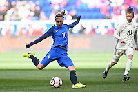Harrison, NJ - Saturday, March 04, 2017: Camille Abily during a SheBelieves Cup match between the women's national teams of France (FRA) and Germany (GER) at Red Bull Arena.