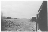 RGS train about to enter north end of Lizard Head snowshed.<br /> RGS  Lizard Head, CO  Taken by Maxwell, John W. - 1947-1948