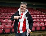 Sheffield Utd fans for Gallery - English League One - Scunthorpe Utd vs Sheffield Utd - Glandford Park Stadium - Scunthorpe - England - 19th December 2015 - Pic Simon Bellis/Sportimage