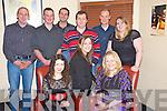 Pictured at the Firies Macra na Feirme Christmas party in Lord Kenmares restaurant, Killarney on Saturday night were Georgina Hannon, Annette Nagle, Maria McCarthy, Tim O'Sullivan, Gary Nagle, William Horgan, Mervyn Long, Kieran Nagle and Mairead Corcoran.