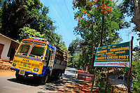 Forest ranger's check point at the entrance of the Nilgiris' biosphere, controlling wood coming out of the 5700 square kilometer area. The Nilgiris biosphere, recognized by UNESCO since 1986, is the first of it's kind in India. It's the acknowledgement of an exceptional environment, with a unique biotope as well as an environment to protect for the diversity of human cultures.