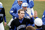 Andy Burns runs in to home plate after hitting a home run in the second inning of UK's win over Morehead State  at Cliff Hagan Stadium on Tuesday, March 2, 2010. Photo by Britney McIntosh | Staff