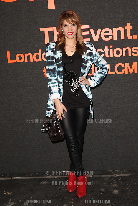 Pips Taylor attending The Superdry AW14 event, London Collections: Men held at the old sorting office<br /> London. 07/01/2014 Picture by: Henry Harris / Featureflash