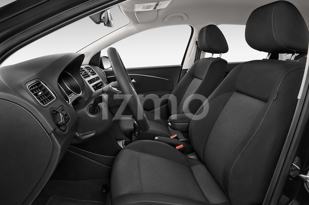 Front seat view of a 2014 Volkswagen POLO SPORTLINE 5 Door Hatchback 2WD Front Seat car photos
