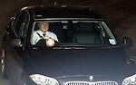 Killie's chairman Michael Jonston leaving the SPL meeting at Hampden