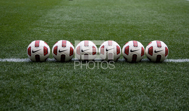 Nike Soccer Ball. The USWNT defeated Mexico, 1-0, during the game at Red Bull Arena in Harrison, NJ.