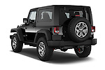 Car pictures of rear three quarter view of 2017 JEEP Wrangler Rubicon 5 Door SUV Angular Rear