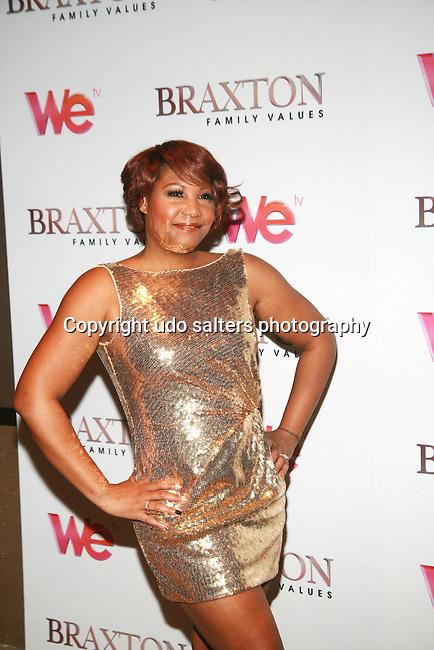 Trina Braxton Attends Premiere Screening of BRAXTON FAMILY VALUES Season 2 Held at Tribeca Grand, NY 11/8/11