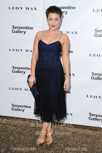 Jaime Winstone arriving for the Serpentine Gallery Summer Party 2012, Hyde Park, London. 26/06/2012 Picture by: Steve Vas / Featureflash