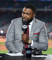 HOUSTON - OCTOBER 22: David Ortiz at World Series Game 1: Washington Nationals at Houston Astros on Fox Sports at Minute Maid Park on October 22, 2019 in Houston, Texas. (Photo by Frank Micelotta/Fox Sports/PictureGroup)