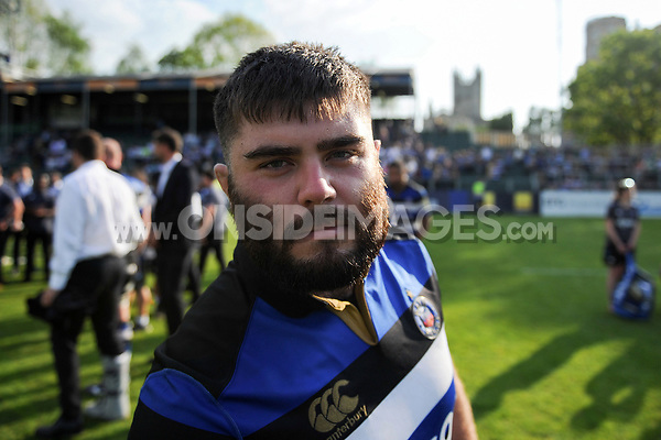 Aviva Premiership match, between Bath Rugby and London Irish on May 5, 2018 at the Recreation Ground in Bath, England. Photo by: Henry Thomas of Bath Rugby for Onside Images