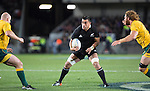 Liam Messam. All Blacks beat Australia 22-0. Eden Park, Auckland. 25 August 2012. Photo: Marc Weakley
