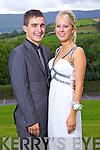 Eoin Horgan and Charlie Anne Walsh, enjoying Gael Choláiste Chiarraí debs at Ballyroe Heights hotel on Monday evening.