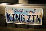 Amador Vintner's Behind the Cellar Door event..California license plate, Yosemite background, KING ZIN..Karly WInery