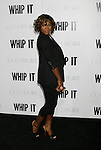 "HOLLYWOOD, CA. - September 29: Serena Williams arrives at the Los Angeles premiere of ""Whip It"" at the Grauman's Chinese Theatre on September 29, 2009 in Hollywood, California."