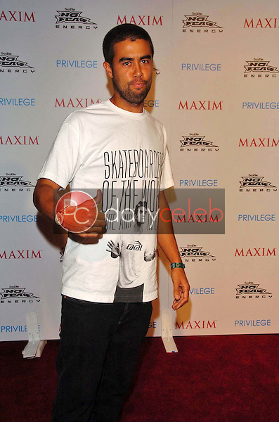 Eric Koston<br />at the MAXIM Magazine and Sobe No Fear X Games Party. Privilege, West Hollywood, CA. 08-03-06<br />Scott Kirkland/DailyCeleb.Com 818-249-4998