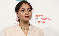 L'attrice britannica Rhianne Barreto posa durante il photocall per la presentazione del film 'Share' alla 14^ Festa del Cinema di Roma all'Aufditorium Parco della Musica di Roma, 25 ottobre 2019.<br /> British actress Rhianne Barreto poses for the photocall to present the movie 'Share'' during the 14^ Rome Film Fest at Rome's Auditorium, on 25 October 2019.<br /> UPDATE IMAGES PRESS/Isabella Bonotto